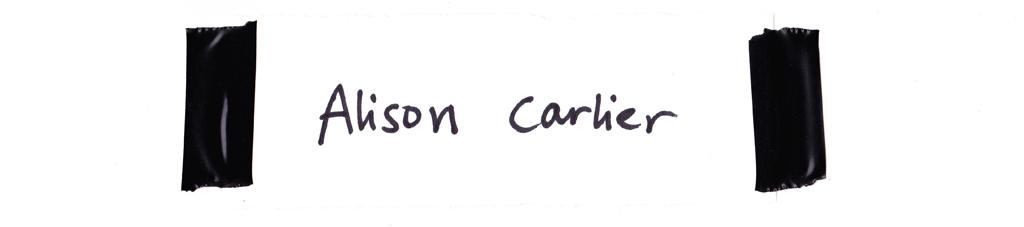 Alison Carlier